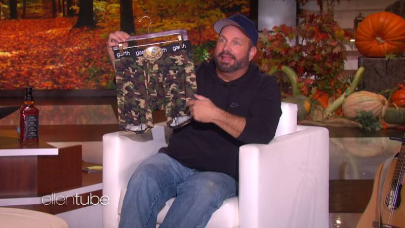 Garth Brooks Adds His Own 'FUN' Merch to the Ellen Shop