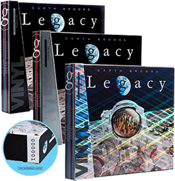 The Legacy Collection 3 Numbered Box Sets